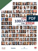 100 Cio c to Leaders in Stem