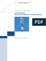 Technical Report LTE Base Stations