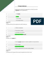 Grupos Internos Evaluación Unidad 2