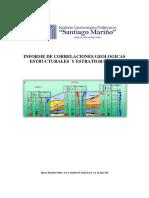 Correlaciones Estructurales y Estratigraficas