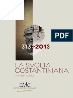 La Svolta Costantiniana Di Marta Sordi