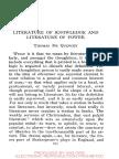 Thommas de Quincey - Literatura de Conocimiento