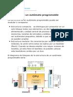 Estructura de Un Autómata Programable