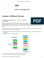 Creation of Different Devices _ EMC STORAGE SAN