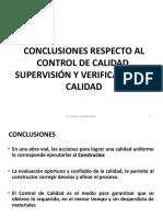 CURSO TERRACERIAS 2015 Tema 11 Conclusiones Resumen
