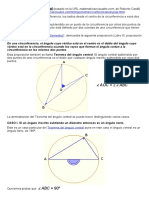 Teorema Del Ángulo Central
