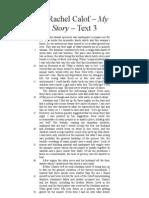 8. Rachel Calof – My Story – Text 3