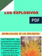 Exposición Explosivos