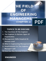 Report Engineering Management