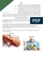 Braille, Descubrimientos de Ricardo Bressani e Imagenes de Procreación y Alimentación.