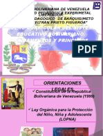 curriculo bolivariano
