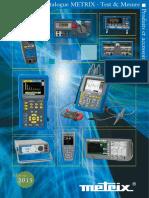 Catalogue Metrix 2015 FR
