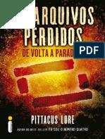 -14- Os Arquivos Perdidos_ de Volta a Paradise - Pittacus Lore