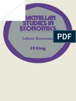 King, J. E. (1990). Labour Economics an Australian Perspective. Book Service