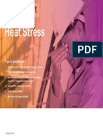 Safety Alert for Heat Stress