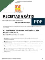 → 57 Alimentos Ricos em Proteínas_ Lista Atualizada [2017]