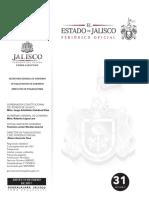 Diario Oficial del Estado, convenio SEPAF con Gobierno de Ocotlán