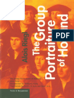 Alois Riegl, Evelyn m. Kain, Wolfgang Kemp-The Group Portraiture of Holland