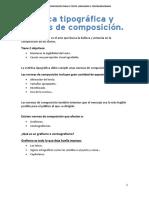 Normas de Composición Para El Texto