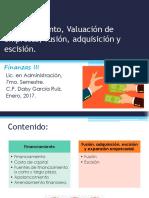 Tema 6 Al 7 Financiamiento y Generación de Valor