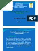 tratamiento dislipidemia 2012