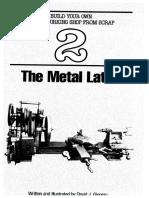The Metal Lathe by David J Ginger