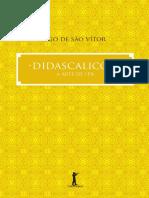 Didascalicon a Arte de Ler - Hugo de São Vitor - Vide Editorial - 2015