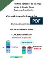 Físico-Química de Superfícies(4048)