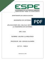 Investigacion - Cálculo vectorial
