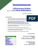 Clinical Effectiveness Bulletin 40 - May 2010