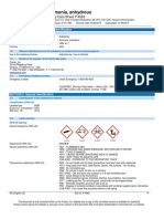 Ammonia NH3 Safety Data Sheet SDS P4562[11669]