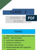 CLASE 2 Acero