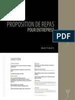 Matyasy Repas pour Entreprises