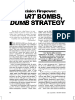 A-stan Smart Bombs Dumb Strategy