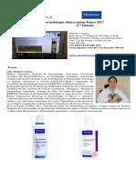 Curso Dermatologia Clinica 2017. Primera Edición