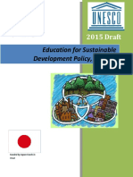 Education for Sustainable Development Policy