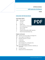Atmel 0856 AVR Instruction Set Manual