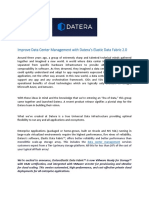 Improve Data Center Management with Datera's Elastic Data Fabric 2.0