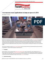 Five machine vision applications to keep an eye on in 2014 - Vision Systems Design.pdf