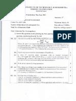 Question Papers B.tech ECE Instrumentation & MeasurementECT-206(111) 4