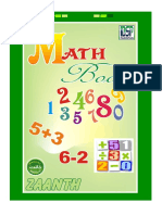 Numeracy Book ( Math Qaida ) for Out of School Children & Adolescents