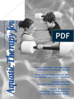 Aquatic Therapy Journal Sept 2006 Vol 9