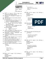 Set-1 Pc Fundamentals Home Assignment