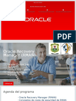 Recovery Manager en Oracle