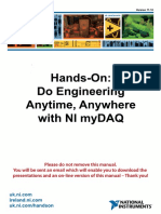 Do Engineering Anywhere Anytime With NI MyDAQ