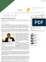 """Correio Braziliense - Economia - Reajuste fica para 2011"""