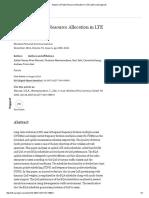 Analysis of Radio Resource Allocation in LTE Uplink _ SpringerLink