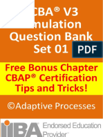 ECBA V3 Question Bank