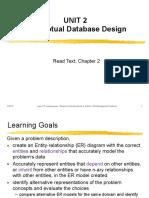 Unit 02 - DB Design - ER Diagrams