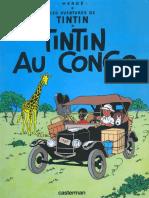 HERGE - Tintin Au Congo